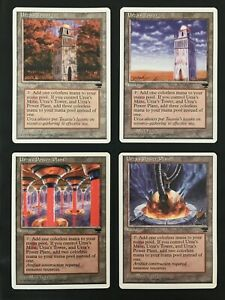 + Urza Tron Lands Set - alle 12 - englisch Chronicles MtG Magic the Gathering +