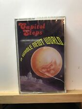 New ~ A Whole Newt World by Capitol Steps (Cassette, 1995, Capitol Records)