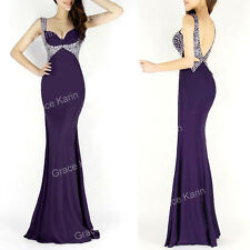 CHEAP~Long Mermaid Party Evening Prom Cocktail Bridesmaid Dress Wedding Gowns