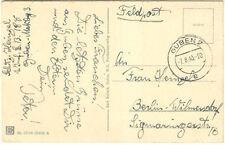 German WWII Feldpost 143d Infantry Reserve Division ~Ukraine~Dubno~Poland~