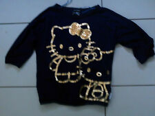 Girl's HELLO KITTY T-shirt - age 7-8 years - GEORGE