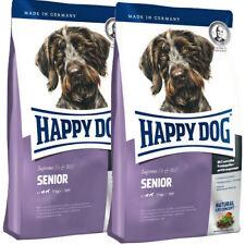2 x 12,5 kg Happy Dog Supreme Fit & Well Senior