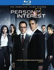 Person of Interest - The Complete Third Season Blu-ray  New Sealed