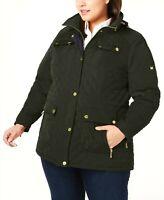 MICHAEL Michael Kors Plus Size Quilted Jacket MSRP $250 Size 1X # 23A 3 Blm