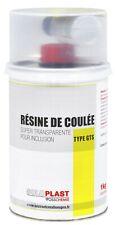 RESINE DE COULE ORTHOPHTALIQUE TRANSPARENT POUR INCLUSION TYPE GTS 1KG SOLOPLAST