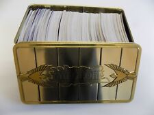 APPROX 500 YUGIOH HOLOS ULTRAS SUPERS SECRETS NO COMMONS IN GOLD SARCOPHAGUS TIN