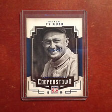 Detroit Tigers Ty Cobb #96 24/25 Fatto Blu Parallel 2015 Panini Cooperstown Hof