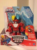 Playskool Heroes Transformers Rescue Bots Heatwave the Fire-Bot to Dragon Figure