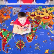 New Educational Fun Interactive Children's Rug Nursery Play school Playroom Mat