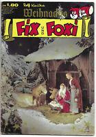 Fix + Foxi Weihnachts-Sonderheft von 1970 mit Würfelspiel - KAUKA COMICHEFT
