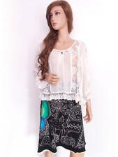 DESIGUAL size M skirt pattern cotton 100%