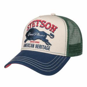 ref 7751152 Casquette Trucker Cap Great Plains STETSON Western homme, femme