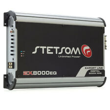 Stetsom EX8000EQ 1 Channel 1 Ohm Car Amplifier
