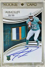 KENYAN DRAKE 2016 Panini Immaculate #113 Set RPA RC OC Auto Patch 6/99 Dolphins