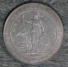 Beautiful Almost Uncirculated 1930 British Trade Dollar!
