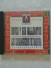 """BOVEA Y SUS VALLENATOS &LOS CARRANGUEROS DE RAQUIRA """"IDOLOS MANO A MANO """" CD"""