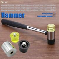 Multi-Purpose Double-Sided Soft Rubber Hammer Perfect Hand Tools Mounting Hammer