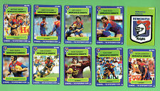 1990 NEWCASTLE KNIGHTS  STIMOROL RUGBY LEAGUE CARDS