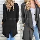 S-5XL Zanzea Women's Casual Loose Long Sleeve Tops Cardigan Outwear Coat Jacket