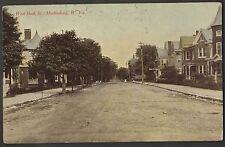 West Burk St Martinsburg W. Va. 1911 Postcard