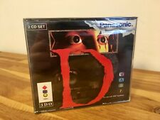 D NEW SEALED PANASONIC 3DO CIB PAL GERMAN GAME GOLDSTAR DOUBLE JEWEL CASE