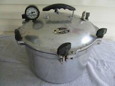 All American  15 1/2 Qt Heavy Cast Aluminum Pressure Cooker / Canner