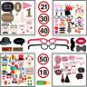 Happy Birthday Party Props Photo Booth Funny Selfie Wedding Events Photography