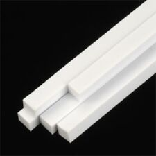 Plastruct 90790 Ms-160 Square Styrene Rod 5/32 x 5/32 x 10 (5 rods) White