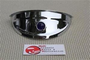 "Motorcycle Headlight Visor Shield 7"" Indian Hog Chopper Harley Yamaha Honda"