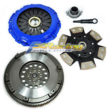 FX RACING 3 CLUTCH KIT & FORGED FLYWHEEL fits 04-17 SUBARU IMPREZA WRX STi EJ257