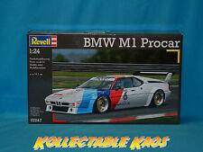 1:24 Revell - BMW M1 Procar - Plastic Model Kit(07247)