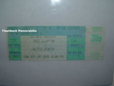 ERIC CLAPTON Unused Concert Ticket 1995 CHICAGO UNITED CENTER Cream BLIND FAITH