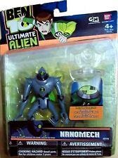 "BEN 10 Ultimate Alien 4 "" Nanomech Cartoon Network New 2010 Factory Sealed"