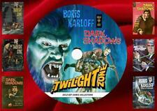Twilight Zone – Dark Shadows – Boris Karloff  Gold Key Comics on PC DVD Rom-CBR