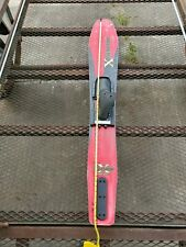 """60"""" Xcelerator Wide Body Water Ski Used condition Mancave Movie Set Prop Decor"""