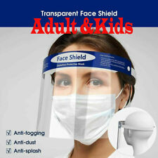 New ListingSafety Full Face Shield Kids Reusable Protection Cover Anti-Splash Face Mask