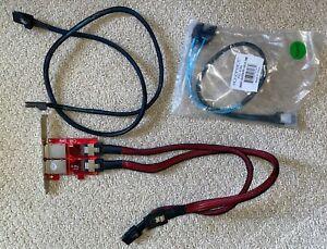 Addonics AD2EMSPCI 2 Port Internal SAS SFF-8087 to External SAS SFF-8088 - bonus