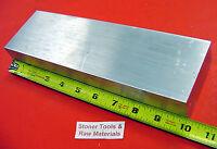 """2-1/2""""x 4""""x 10"""" ALUMINUM 6061 SOLID FLAT BAR T6511 Plate Mill Stock 2.5""""x 4"""""""