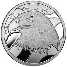 Pledge of Allegiance Silver Eagle 1oz .999 Fine Silver Round by SilverTowne