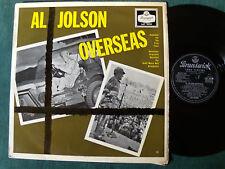 AL JOLSON with LOU BRING Orchestra : Overseas - LP BRUNSWICK England 1956