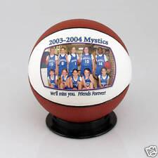Personalized Custom Mini Basketball Coach Trophy Award Gift