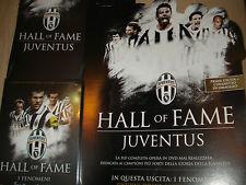 DVD N°1 + BOX I FENOMENI FC JUVENTUS HALL OF FAME ZIDANE CHARLES BETTEGA SIVORI