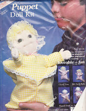 "Puppet Doll Kit, Susie Sunshine 14"" Puppet or Stuffed Toy"