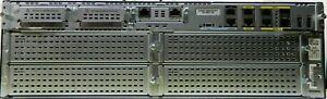 Cisco 3945 Gigabit Services Router C3900-SPE250/K9 PVDM3-64 PVDM3-32 1GB RAM