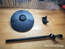 Roland CY-5 Dual Trigger Cymbal Pad w/Cymbal Arm & Clamp - Y8L6307 - MINT!