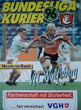 Programm 1995/96 Hannover 96 - VfL Wolfsburg