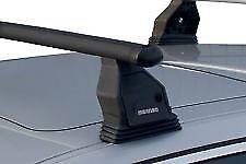 Barre Portatutto Menabo' Tema per FIAT IDEA 5 porte dal 2005 al 2012 in acciaio