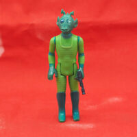 Vintage Star Wars Greedo Action Figure w/ Weapon