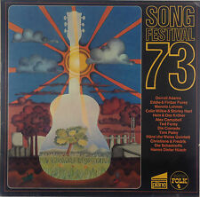 """12"""" LP various-songfestival 73-k3070-rar-washed & cleaned"""
