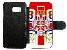 Samsung Galaxy Serbien Srbija V4 Flip Tasche  Hülle Case Cover Schutz Handy